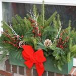 Holiday wondow box